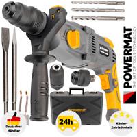 Schlagbohrmaschine Bohrhammer 2550W Bohrmaschine Meißelhammer SDS+ Koffer Set