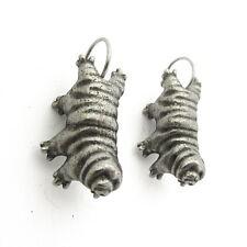 Tardigrade Earrings - Waterbear Earrings, Extremophile, Biology, Science Jewelry