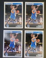 2014-15 NBA Hoops Steph Curry Base Card Lot #9 - 4 Cards Included
