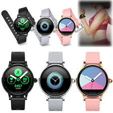 Women Ladies Bluetooth Smart Watch Wristwatch for Samsung Note 10 9 8 iPhone 11