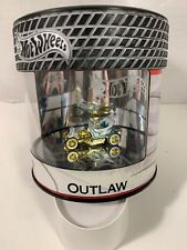 Hot Wheels Oil Can Petersen Museum White Outlaw w/Real Riders