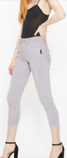 NEW Silver Jean Co. AVERY SKINNY CROP COLOR WASH NWT Size 27 and Size 31