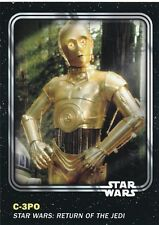#5 C-3PO 2016 Topps Star Wars Trader Physical card