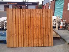 Feather Edge Board 6Ft x 6Ft  Panel NEW LOW PRICE HIGH QUALITY TREATED TIMBER