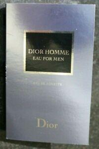 DIOR HOMME EAU FOR MEN EDT DIOR BY Christian Dior Sample Spray 1.0 ml. /0.03 oz.