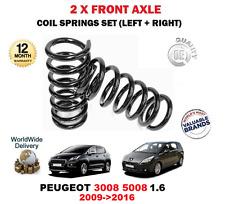 Per Peugeot 3008 5008 1.6 2009-2016 Nuovo x 2 Anteriore Bobina Molle Set