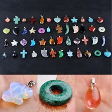 Wholesale Lots Mixed HandCraft Colorful Natural Stone Gemstone Pendants Gift