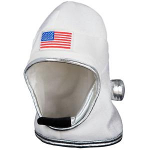 Astronaut Fancy Dress Helmet Fabric Spaceman Hat by Wicked