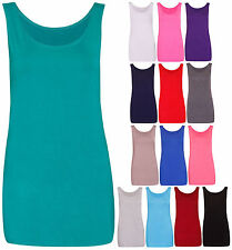 Women's No Pattern Sleeveless Tops & Shirts