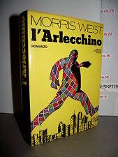 LIBRO Morris West L'ARLECCHINO 1^ed.1975 Traduzione Bruno Oddera