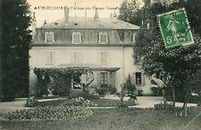 Carte AUDINCOURT Château des Usines Sous Roches