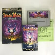 Demon's Blazon (Demon's Crest) with Box and Manual [Super Famicom Japanese ver]