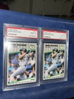 Mark Mcgwire 1989 Fleer #17 PSA Mint 9 Lot of Two(2)
