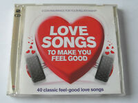 Love Songs To Make You Feel Good - Various (2 x CD Album) Used Very Good