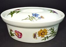 """BIA Cordon Bleu """"Carolina"""" Ceramic Oval Covered Floral Casserole 1.5 Qt.Dish"""