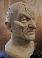 Freddy Krueger Bad Dream Stunt Mask  7   BLANK - NO PAINT
