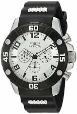 Invicta 22698 Pro Diver Men's 48mm Chronograph Stainless Steel Silver Dial Watch