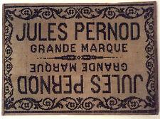 TAPIS LAINE SUR BOIS PUB 1900 ABSINTHE JULES PERNOD GRANDE MARQUE AVIGNON