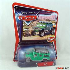 Disney Pixar Cars Walmart Exclusive Green TJ Hummer NEW