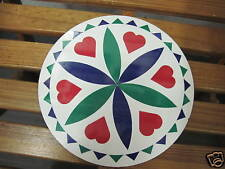 """8"""" PA Dutch Hex Sign-( H2-)-Love and Romance (green) Made In The USA"""