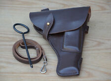 USSR Original Red Army Tokarev TT-33 pistol belt holster cleaning rod & lanyard