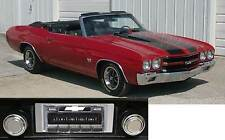NEW USA-630 II* 300 watt '69-72  Chevelle Malibu AM FM Stereo Radio iPod USB Aux