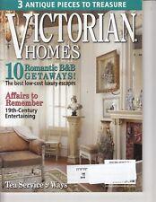 Victorian Homes Magazine Aug. 2009 - 3 Antique Pieces To Treasure , Romantic B&B