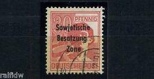 SBZ 30 Pfg. Maschinenaufdruck 1948 Aufdruckfehler Michel 192 IV geprüft (S9278)