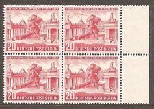 Berlin German & Colonies Stamp Blocks