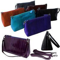 Genuine Eel Skin Leather Tote Bag Shoulder Bag Handbag Crossbody Bag