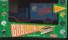 HOUSTON OILERS DIE CAST METAL COIN BANK NFL TRUCK NEW IN BOX 1993 ERTL