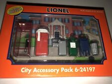 LIONEL NIB  6 24198  Hand Painted pewter - City accessory  Pack -