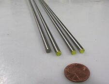 O1 Tool Steel Ground Drill Rod, Metric 4 mm Dia x 3 FT Length, 4 Pcs