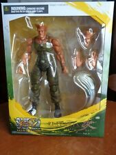 Guile Super Street Fighter 4 Vol. 3 Play Arts Kai Action Figure Square Enix NEW