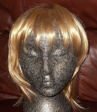 Fine Feather Cut Wig in Ginger Blonde