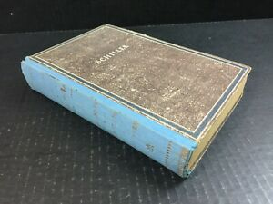 Schillers Old German Language Book 1946 Decorative Hardcover