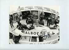 Jacques Laffite Ligier JS17 British Grand Prix 1981 signé Press Photo 2