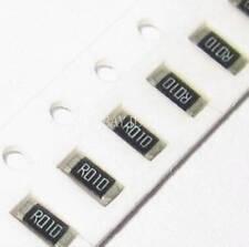 100PCS 0.01 ohm Ω R010 10mR ±1% 1206 (3216) 1/4W SMD Chip Resistor 3.2mm×1.6mm