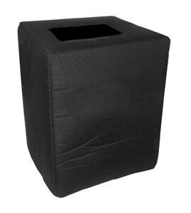 AudioKinesis Hathor 1203 1x12 Bass Cabinet Cover - Black,Tuki (audk005p)