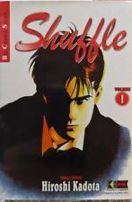 Shuffle dal n 1 al n 5 di hiroshi kadota D/book da EDICOLA MAI LETTI!!