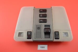 B#17 MERCEDES BENZ S320 S420 S500 OVERHEAD GREY DOME LIGHT SWITCH  1408201601