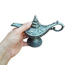 ALADIN THE  GENIE OIL LAMP SILVER COLOR  LAMP!!!