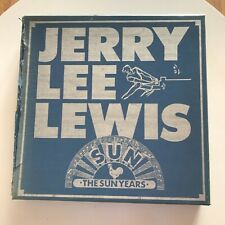 JERRY LEE LEWIS - THE SUN YEARS - CAJA 12 LPS SUN UK 1983