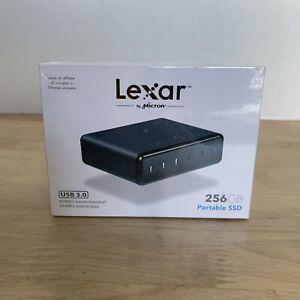Lexar 256GB Portable SSD USB 3.0 - LRWSSD256TBNA