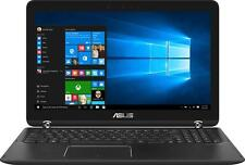 """Open-Box: Asus - 2-in-1 15.6"""" 4K UHD Touch-Screen Laptop - Intel Core i7 - 16..."""
