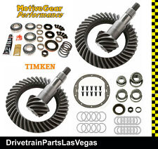 GM 8.6 - 8.25 IFS 4.10 Ratio Ring Pinion Gear Set Master Install Kits 2010 2016