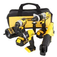 NEW DEWALT DCK490L2 20v MAX Lithium-Ion Cordless 4-Tool Combo Kit