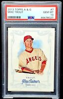 2013 Topps Allen & Ginter Angels MIKE TROUT Card PSA 10 GEM MINT Low Pop 116