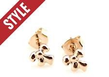 "Super Fashion Lovely Mini ""Bow"" Rose Gold Plated Stud Earring"