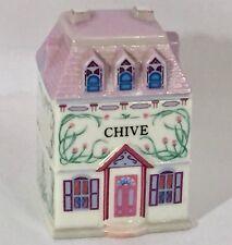 Chive Lenox Spice Village House 1989 Vintage Fine Porcelain Replacement Piece